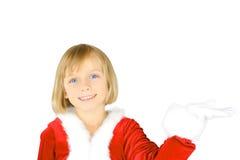 милый маленький santa Стоковая Фотография