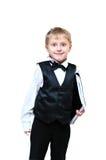 Милый мальчик дела Стоковое фото RF