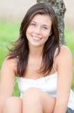 милый напольный портрет предназначенный для подростков Стоковое Фото