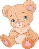 Милый плюшевый медвежонок Стоковые Изображения