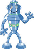 Милый робот шаржа Стоковые Изображения