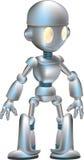 милый робот иллюстрация вектора