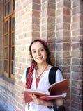 Милый студент колледжа. Стоковая Фотография