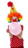 Милый счастливый маленький клоун Стоковые Изображения RF