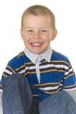 милый счастливый preschooler супер Стоковые Изображения RF