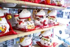 Милый традиционный талисман игрушки маня кота Стоковое Фото
