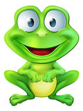 Милый характер лягушки Стоковые Фотографии RF