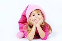 милый хелпер маленький santa Стоковые Фотографии RF