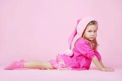милый хелпер маленький santa Стоковая Фотография