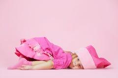 милый хелпер маленький santa Стоковое Фото