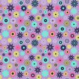 Милый цветочный узор в малом цветке Печать Ditsy безшовная текстура Элегантный шаблон для печатей моды Печатать с иллюстрация вектора