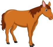 Милый шарж лошади иллюстрация вектора