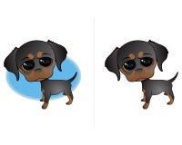 милый щенок иллюстрации Стоковая Фотография