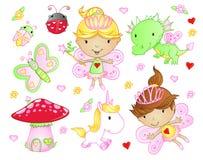Милый Fairy комплект Princess Стоковое Фото