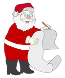 милый santa Стоковые Изображения