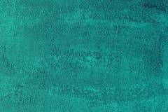 Милый teal grunge, цвета морской волны травертин любит текстура штукатурки для всех целей стоковые изображения rf