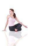 милый yogi женщины Стоковое Фото