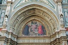 мимолётный взгляд maria santa fiore базилики del di Стоковое Фото