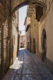 Мимолётный взгляд с сводом Romanesque Стоковые Фото