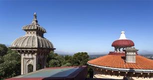 Минареты и крыши дворца Monserrate Стоковые Фото