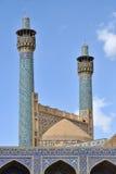 Минареты мечети Jameh Isfahan, Ирана стоковые фотографии rf