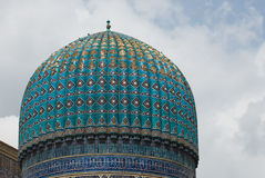 Минареты Registan, Самарканд стоковое фото