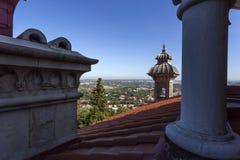 Минарет и крыша дворца Monserrate Стоковые Изображения