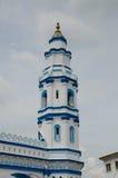 Минарет мечети Panglima Kinta в Ipoh Perak, Малайзии стоковые изображения rf