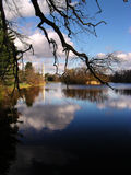 минарет озера Стоковое фото RF
