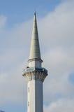 Минарет султана Ahmad Shah 1 мечеть в Kuantan стоковое изображение
