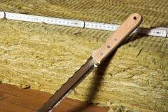 минеральные шерсти Стоковые Фотографии RF