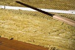минеральные шерсти Стоковые Фото