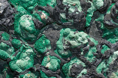 минерал малахита Стоковая Фотография RF