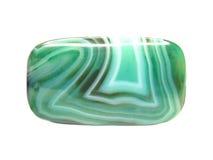 минерал chalcedony зеленый стоковое изображение rf
