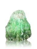 Минерал природы камня нефрита с путем клиппирования Стоковые Изображения RF