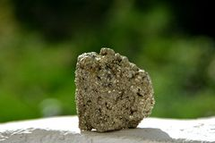 Минерал Pyrit Стоковое Изображение