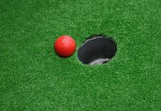 миниатюра гольфа 02 стоковое фото