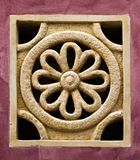 Миниатюрная имитация розового окна Стоковая Фотография RF