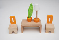 Миниатюрная мебель Стоковое фото RF