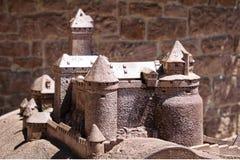 Миниатюрная модель - замок сказки стоковая фотография