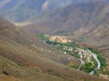 Миниатюрная долина стоковое изображение rf