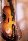 Миниатюрная скрипка Стоковые Изображения