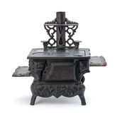 миниатюрная старая печка Стоковое Изображение RF