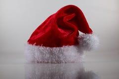 Миниатюрная шляпа santa Стоковое Фото