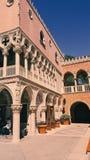 Миниатюрное Doge& x27; дворец s в Венеции стоковое изображение