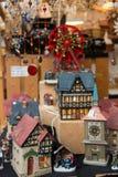 Миниатюрные орнаменты домов, Цюрих, Швейцария стоковое изображение rf