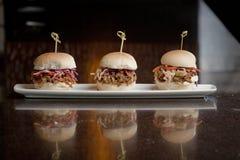 Миниатюрные сандвичи Стоковые Фотографии RF