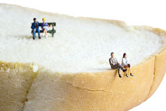 Миниатюрные люди Стоковая Фотография