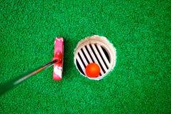 Миниатюрный гольф Стоковые Изображения