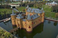 Миниатюрный город Madurodam. Гаага, Нидерланды. стоковое изображение